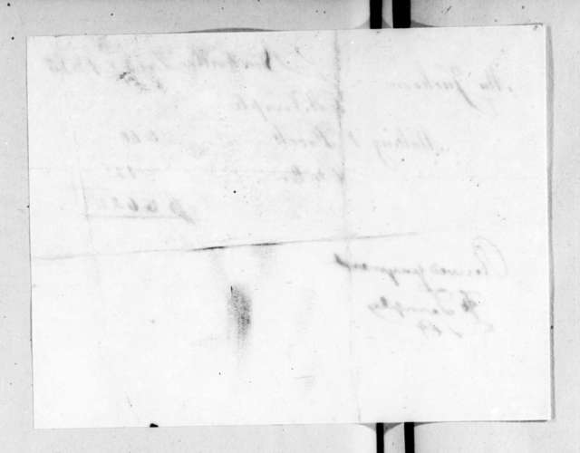Harriett Temple to Rachel Donelson Jackson, December 29, 1823