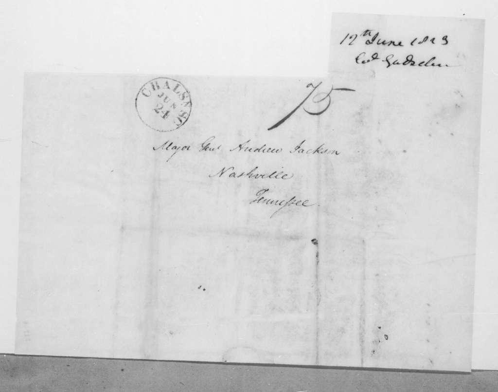 James Gadsden to Andrew Jackson, June 12, 1823
