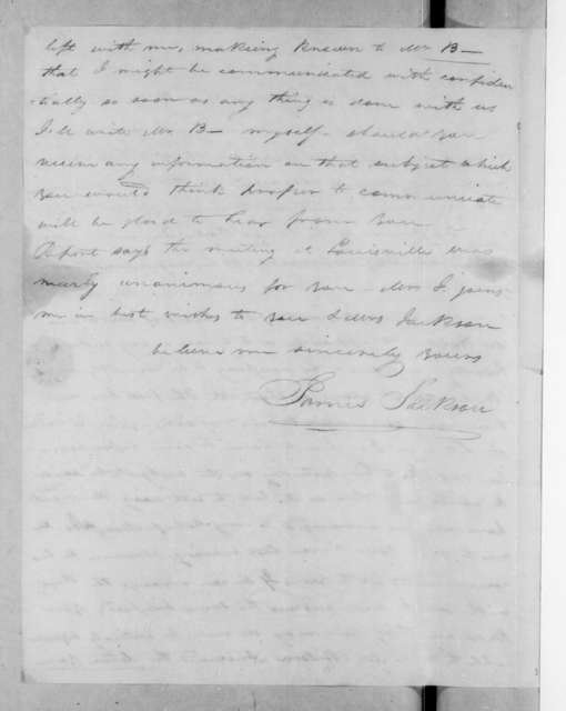 James Jackson to Andrew Jackson, May 4, 1823