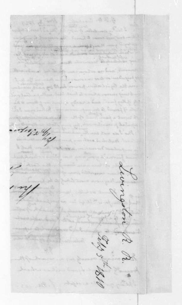 James Madison to G. F. H. Crockett, November 6, 1823.