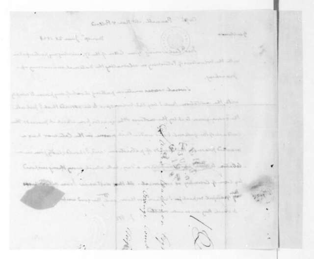 James Madison to Pannill, McRae and Pollard, June 28, 1823.