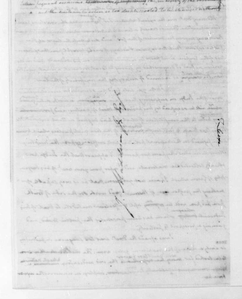 James Madison to Thomas Jefferson, January 5, 1823.
