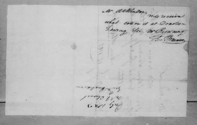 James Stewart & Co. to Atkinson, January 12, 1823