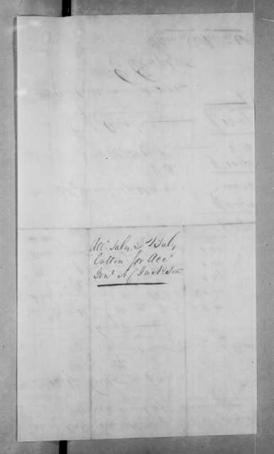 James Stewart & Company to Andrew Jackson, June 4, 1823
