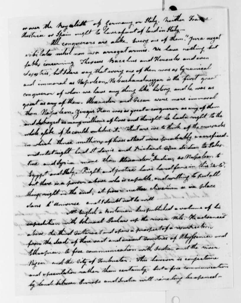John Adams to Thomas Jefferson, March 10, 1823