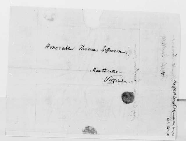 Joseph Bartlett to Thomas Jefferson, January 7, 1823, with Prospectus