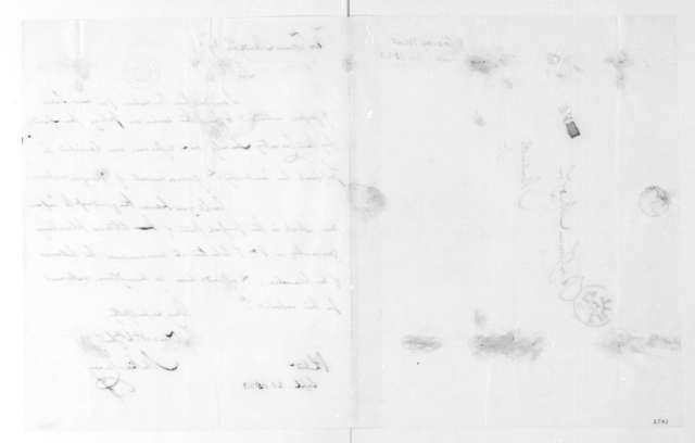 Mathew Carey to James Madison, September 21, 1823.