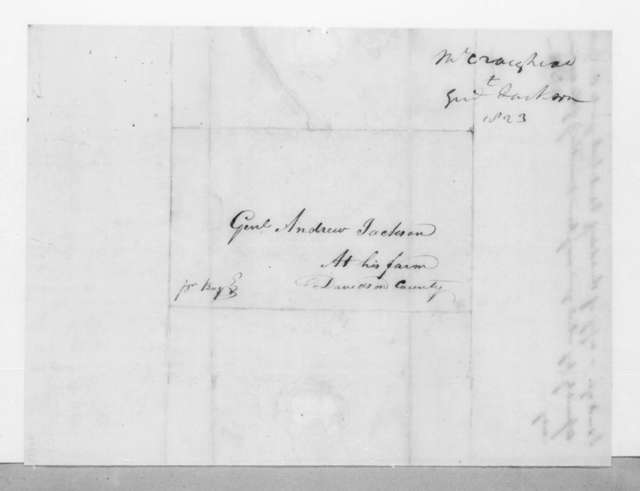 Thomas B. Craighead to Andrew Jackson, April 25, 1823