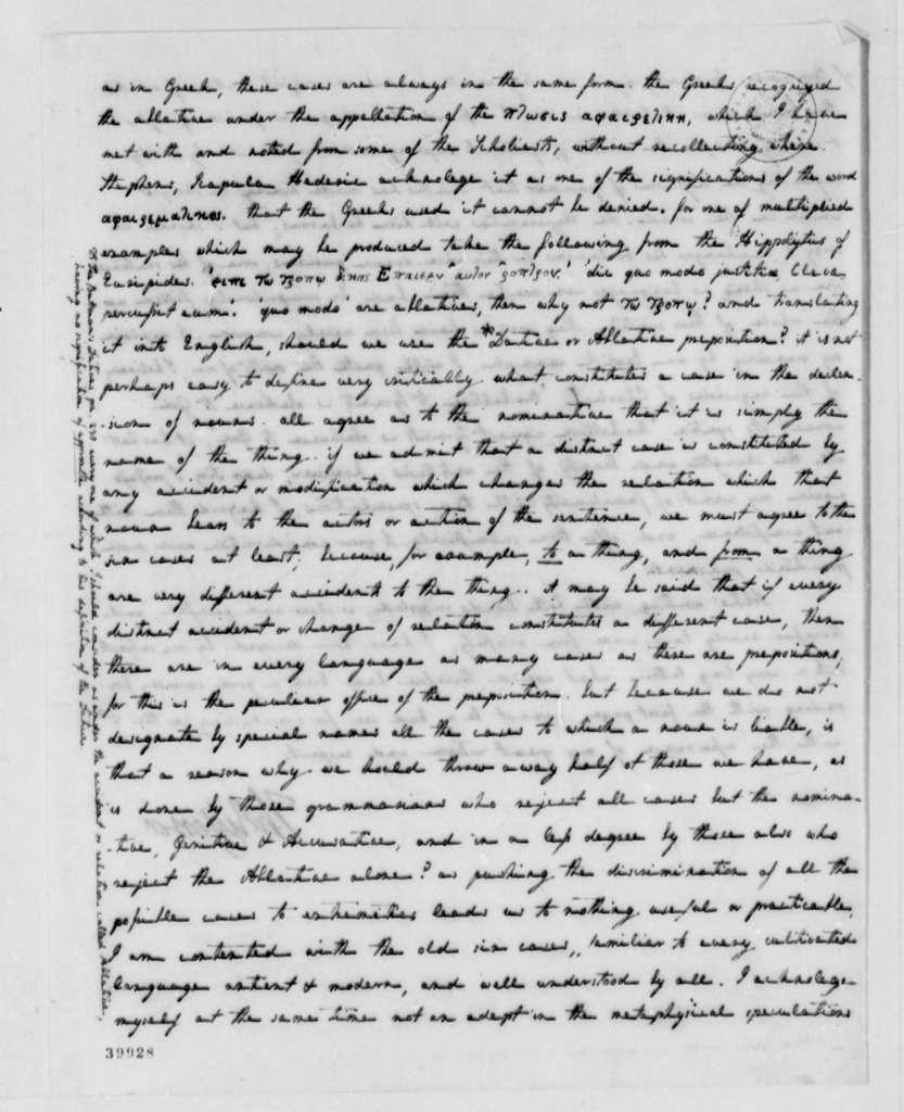 Thomas Jefferson to Edward Everett, February 24, 1823