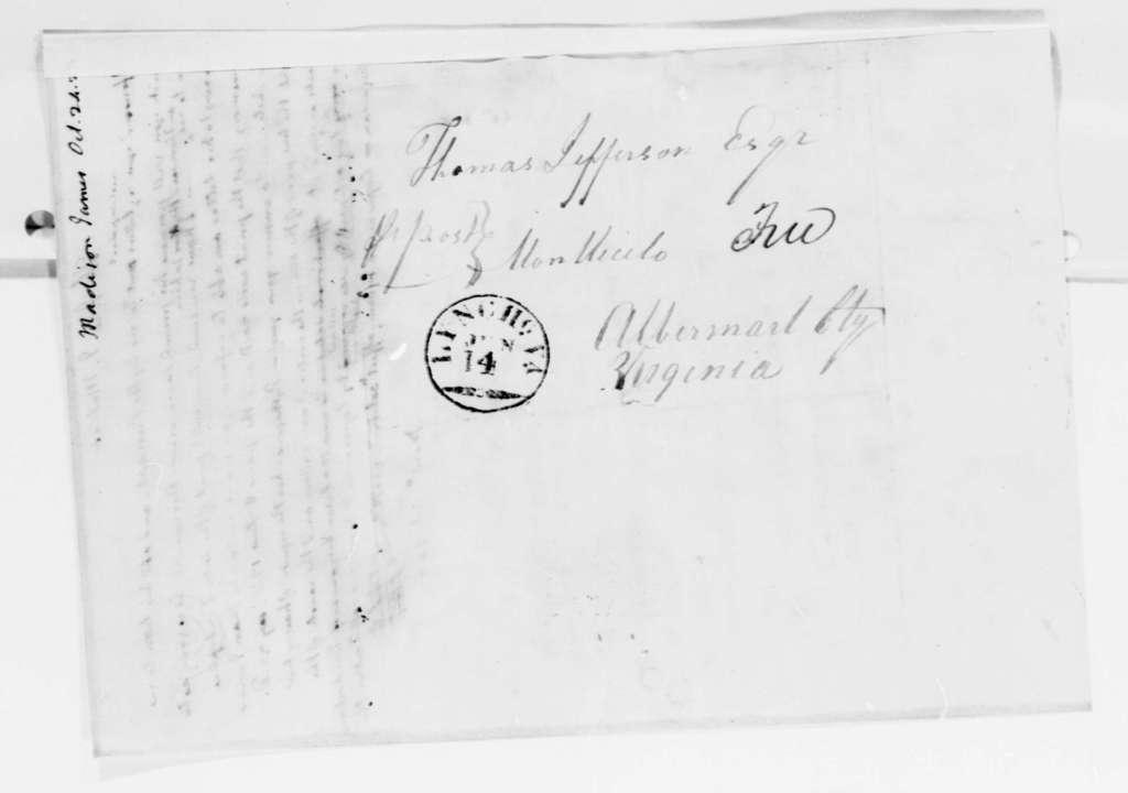 Thomas Jefferson to James Madison, October 24, 1823