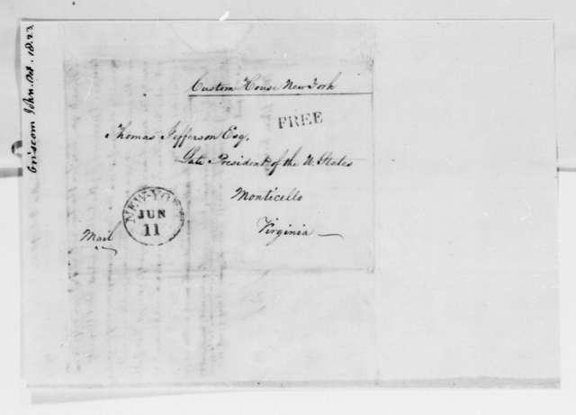 Thomas Jefferson to John Griscom, October 18, 1823