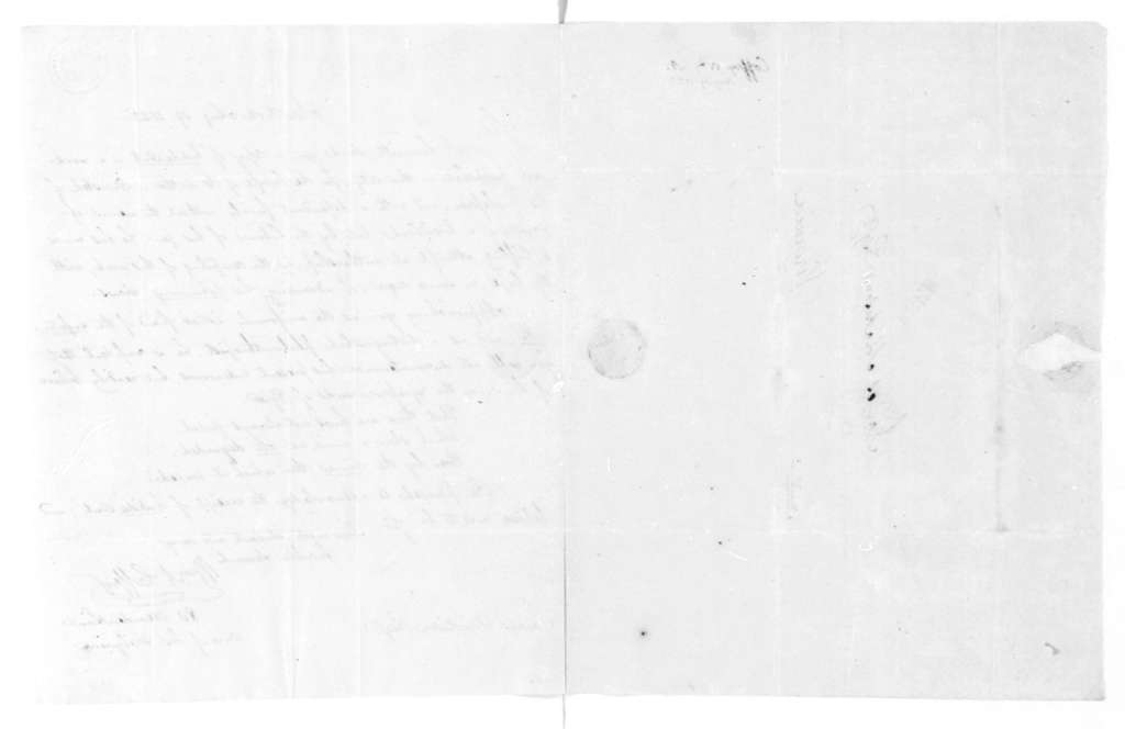 William A. Coffey to James Madison, August 19, 1823.