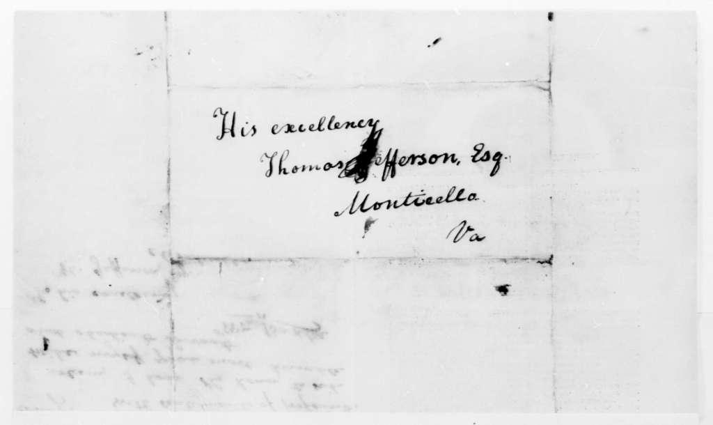 William Baxter to Thomas Jefferson, March 4, 1823, with Printed Proposal to Publish Washingtoniana