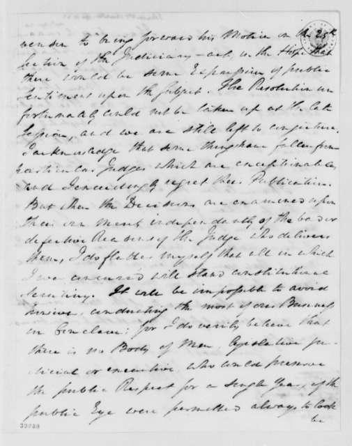 William Johnson to Thomas Jefferson, April 11, 1823