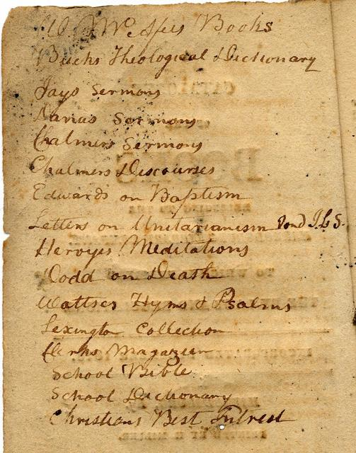 A catalogue of the books belonging to the Harrodsburg Library Company. To which is prefixed the by-laws and regulations.