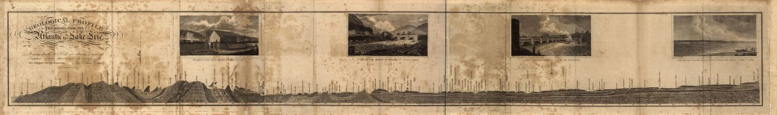 A geological and agricultural survey of the district adjoining the Erie canal in the state of New York. Taken under the direction of the Hon. Stephen Van Rensselaer. Part I. Containing a description of the rock formations; together with a geological profile, extending from the Atlantic to Lake Erie.