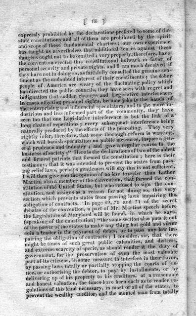 An expose to the relief system : by a protest and resolutions / offered by Robert Wickliffe ; but refused to be printed by a vote of the House of Representatives ; to which is added the yeas and nays on the motion to print said protest.