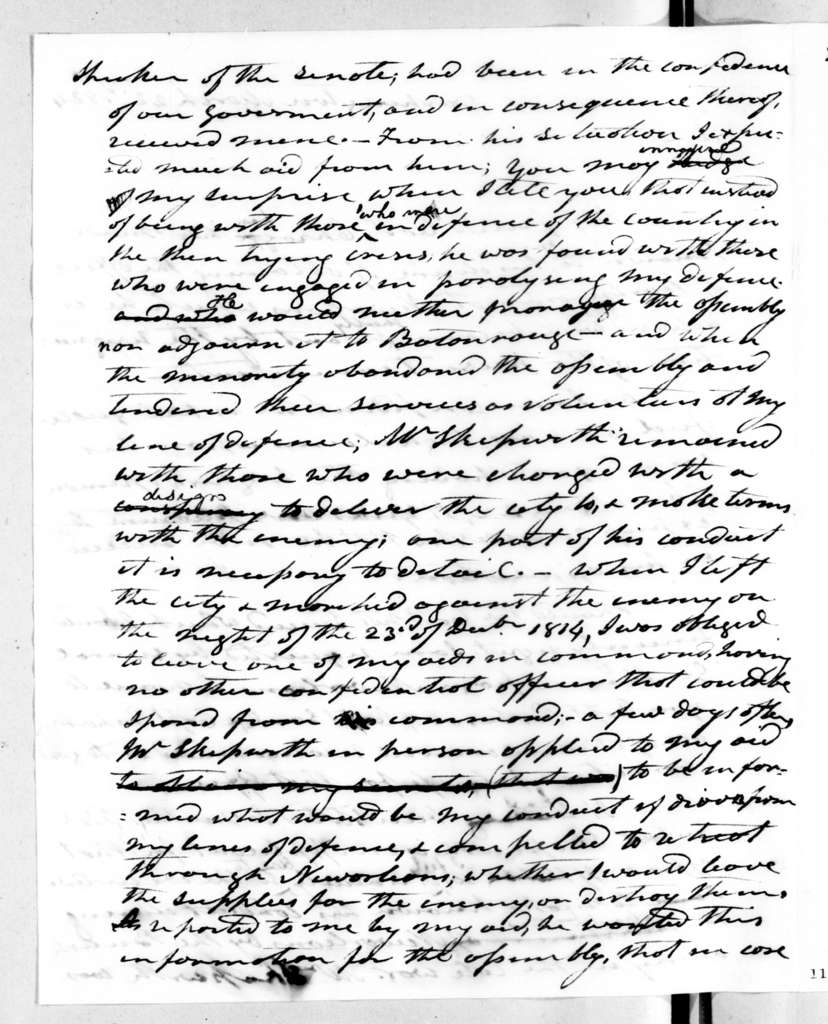 Andrew Jackson to Fulwar Skipworth, March 22, 1824