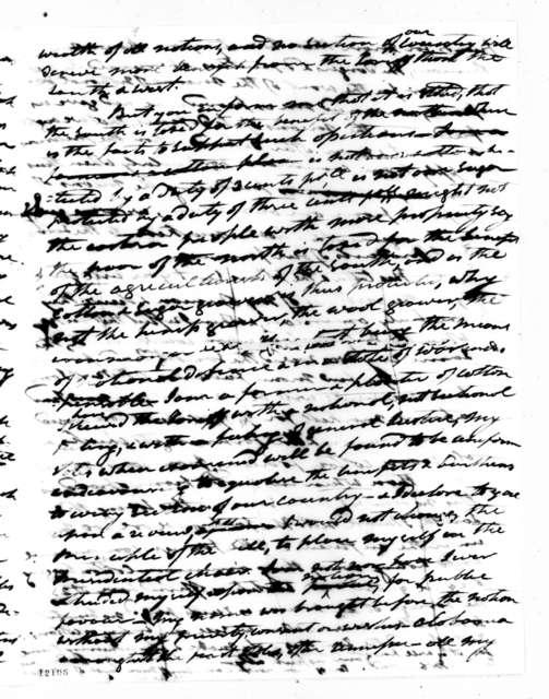 Andrew Jackson to Major Walker, August 3, 1824