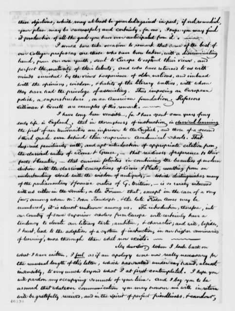 Charles Sigourney to Thomas Jefferson, July 20, 1824