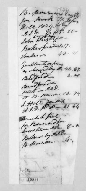 E. Abbot to Rachel Donelson Jackson, December 31, 1824