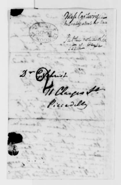 Frances D. Cartwright to John B. Gilchrist, October 15, 1824
