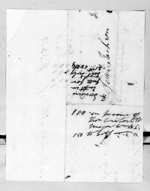 Francis Saunders to Andrew Jackson, July 13, 1824
