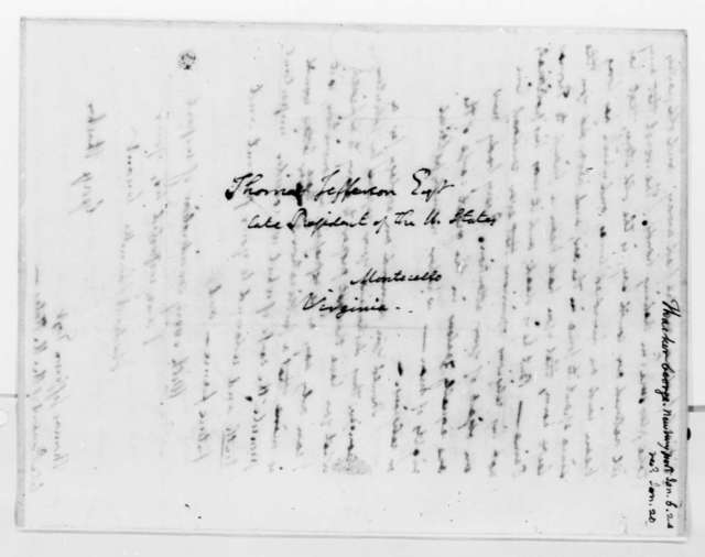 George Thacher to Thomas Jefferson, January 6, 1824