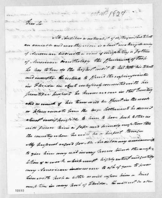 Henry Baldwin to Andrew Jackson, October 10, 1824