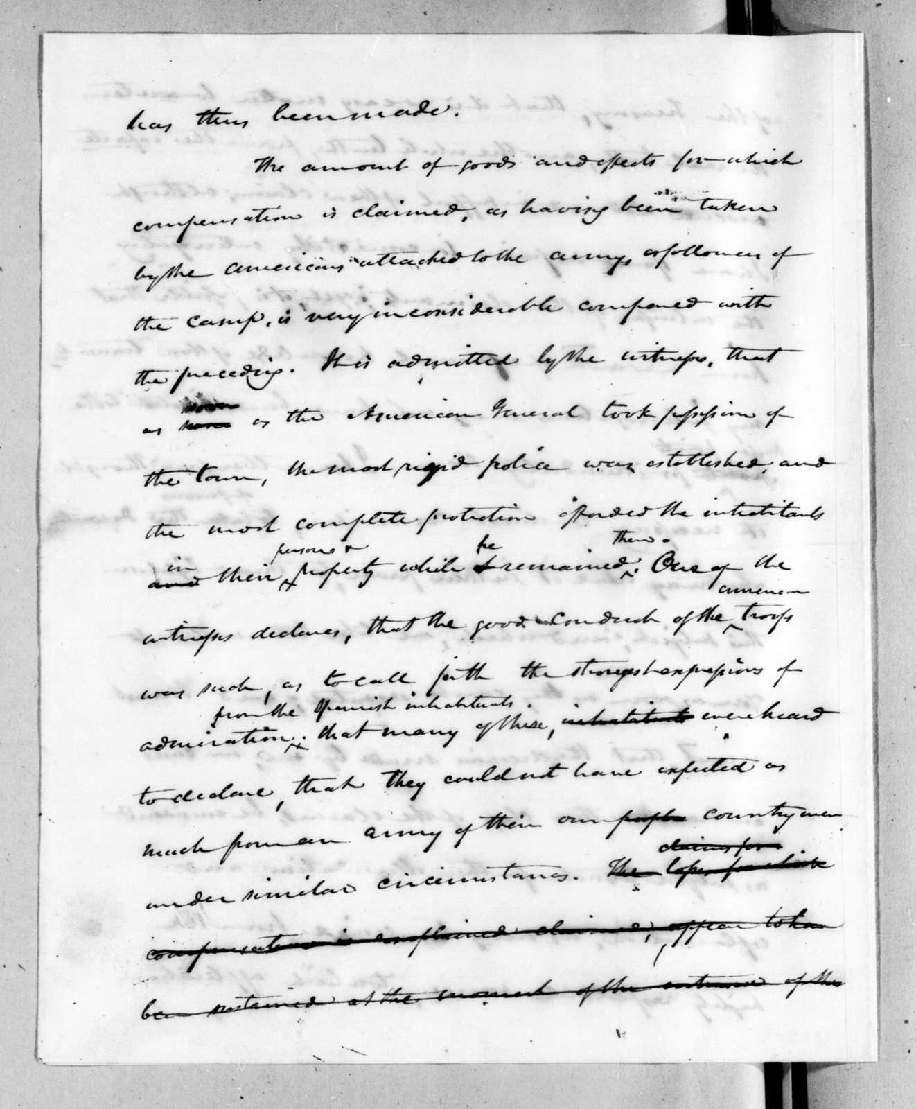 Henry Marie Brackenridge to William Harris Crawford, January 30, 1824