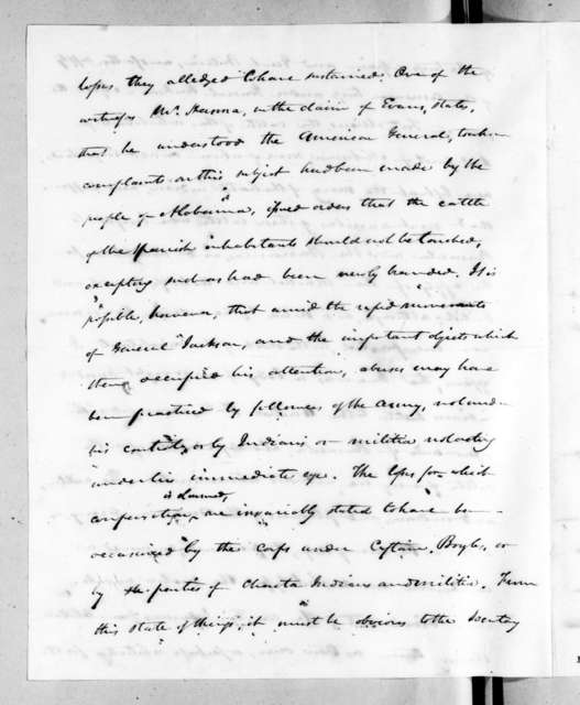 Henry Marie Brackenridge to William Harris Crawford, January 30, 1824