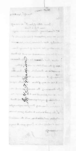 James Madison to Mathew Carey, June 11, 1824.
