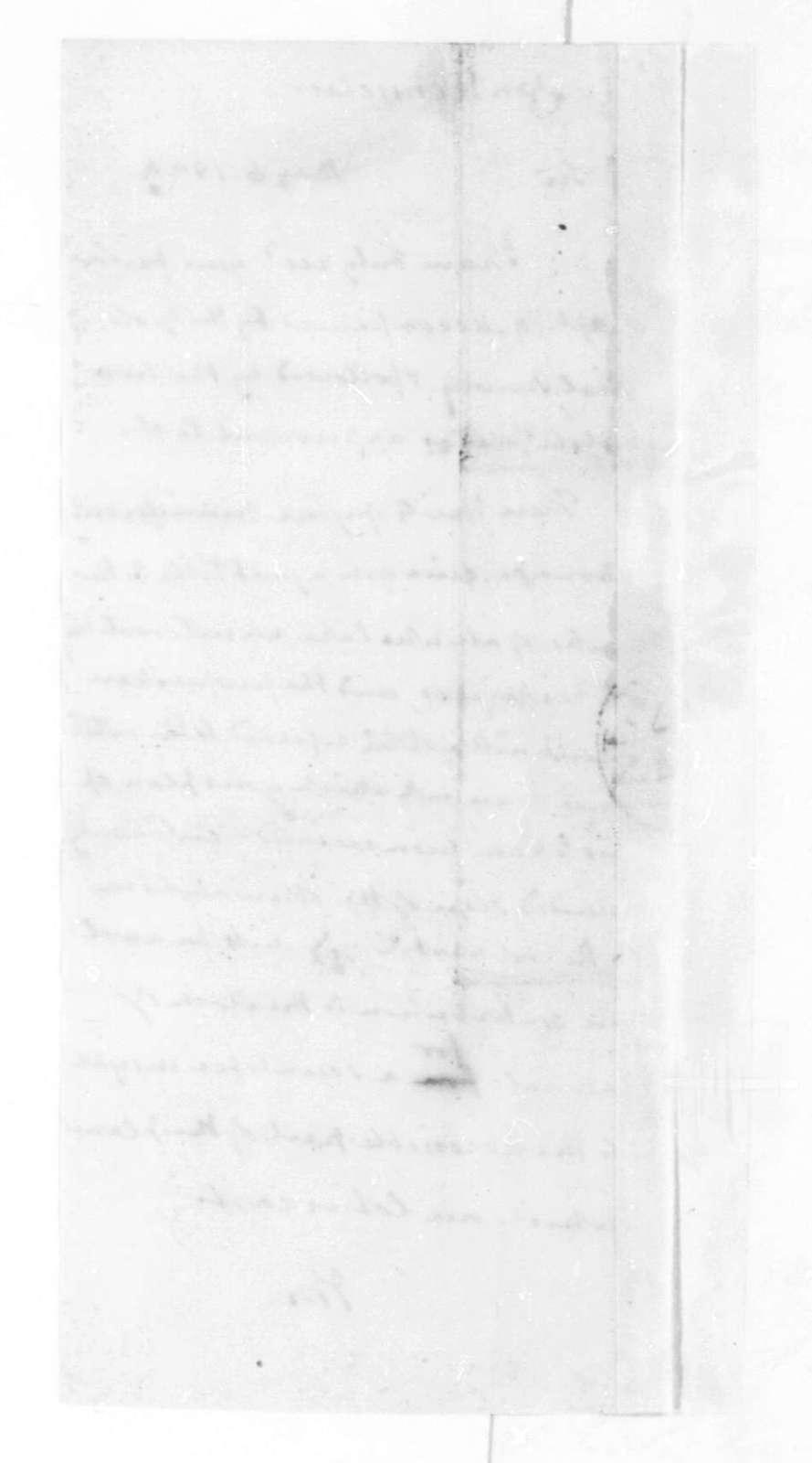 James Madison to Stephen Van Rensselaer, May 6, 1824.
