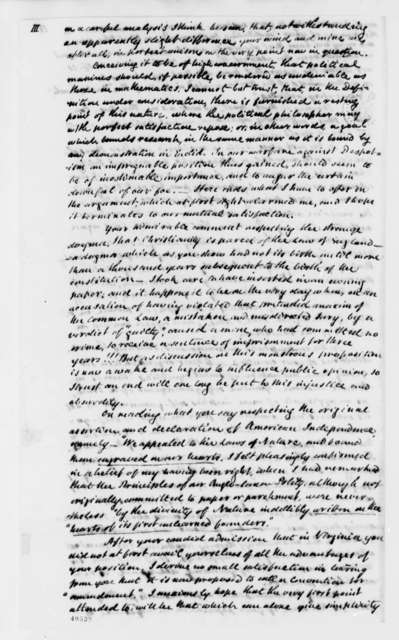John Cartwright to Thomas Jefferson, July 28, 1824