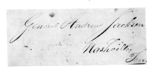 John McFarland to Andrew Jackson, August 14, 1824