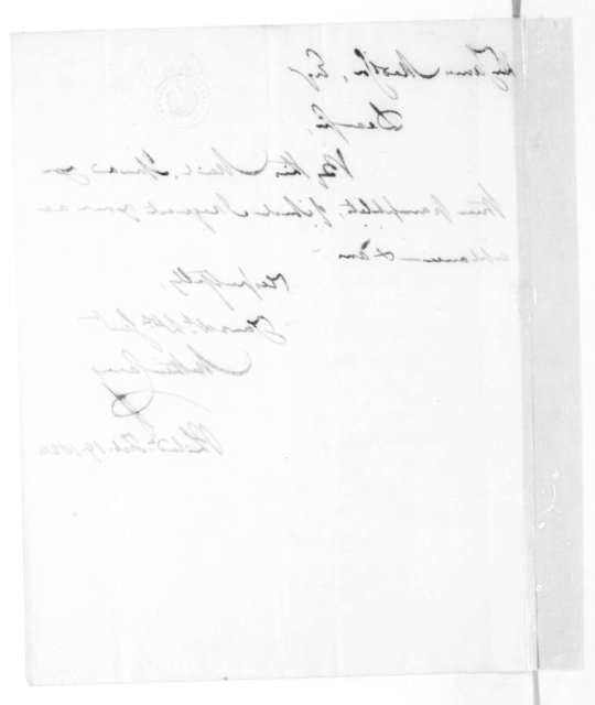 Mathew Carey to James Madison, February 19, 1824.