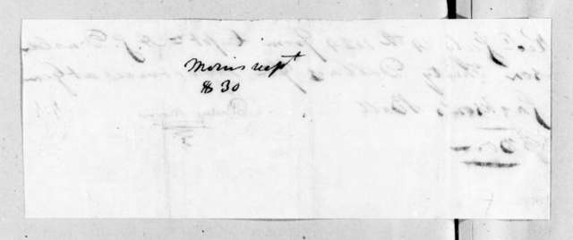 Philip Morris to Andrew Jackson Donelson, July 14, 1824