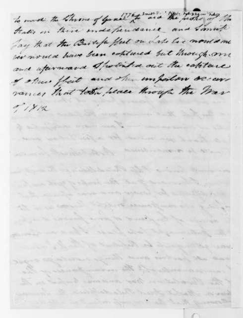 Robert Smith to Thomas Jefferson, February 7, 1824