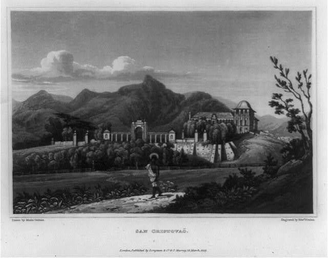 San Cristovaõ / drawn by Maria Graham ; engraved by Edwd. Finden.