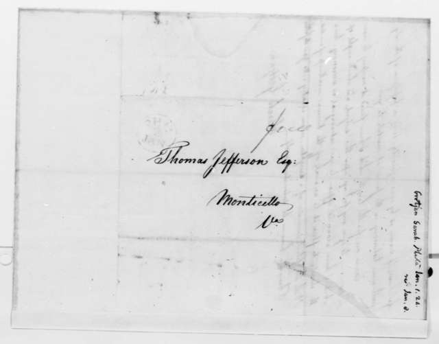 Sarah Grotjan to Thomas Jefferson, January 1, 1824