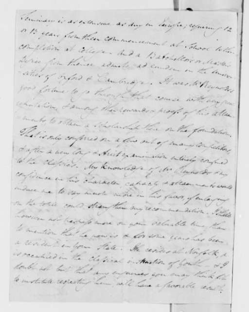 Thomas Addis Emmet to Thomas Jefferson, March 8, 1824