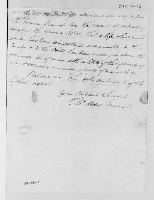 Thomas Addis Emmet to Thomas Jefferson, March 8, 1824