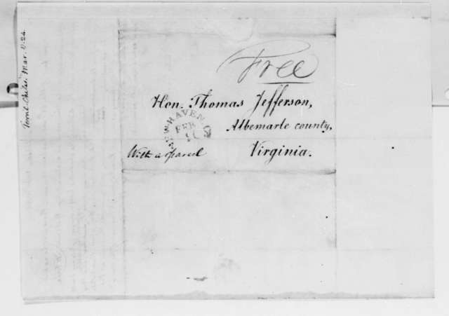 Thomas Jefferson to Chiles Terrell, March 8, 1824