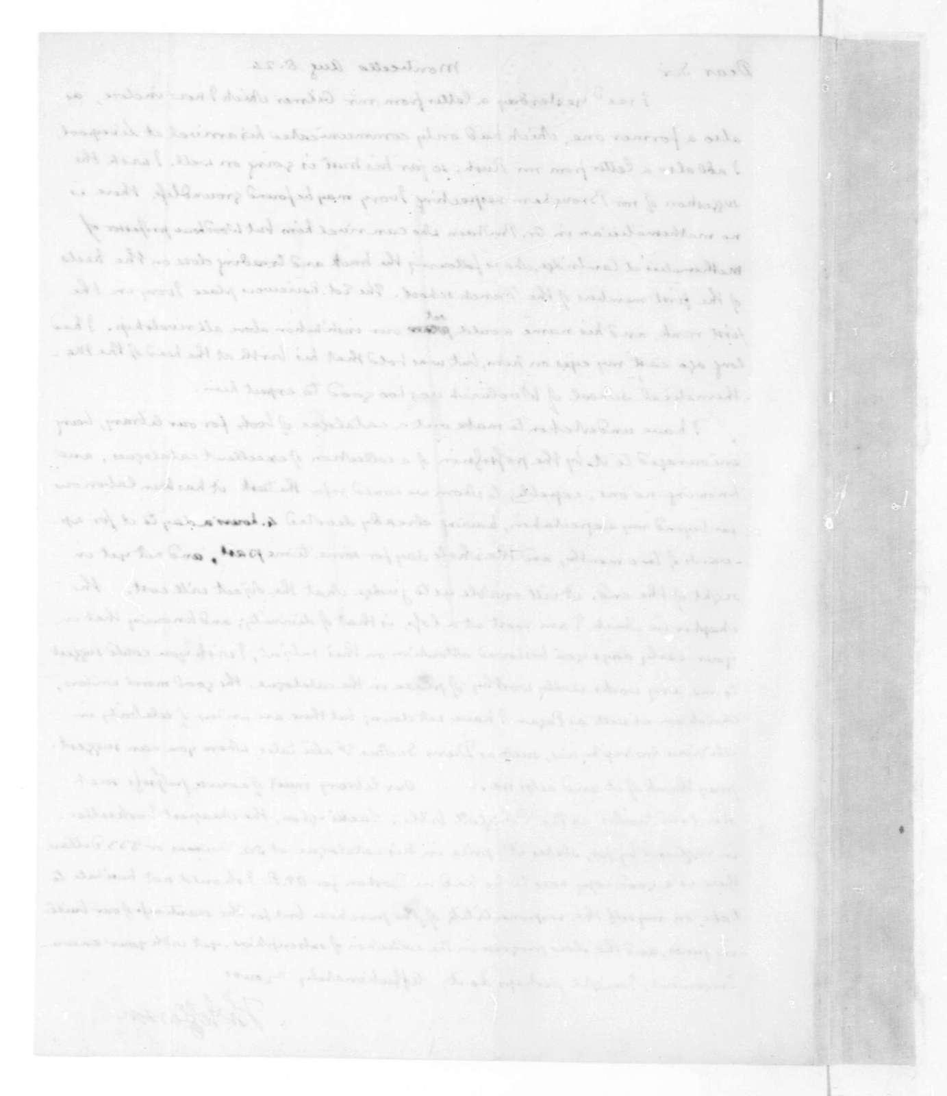 Thomas Jefferson to James Madison, August 8, 1824.