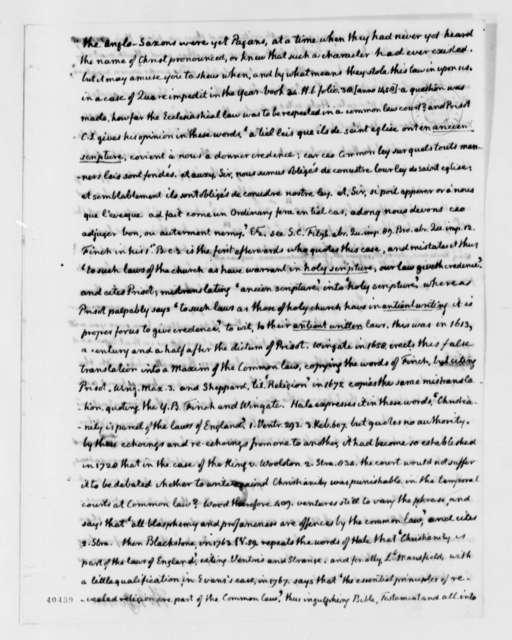 Thomas Jefferson to John Cartwright, June 5, 1824