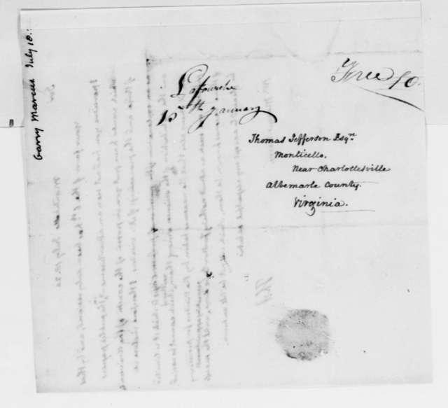 Thomas Jefferson to Marcus Garry, July 18, 1824