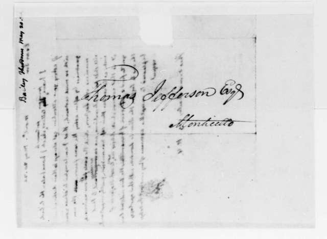 Thomas Jefferson to Theodorus Bailey, May 20, 1824