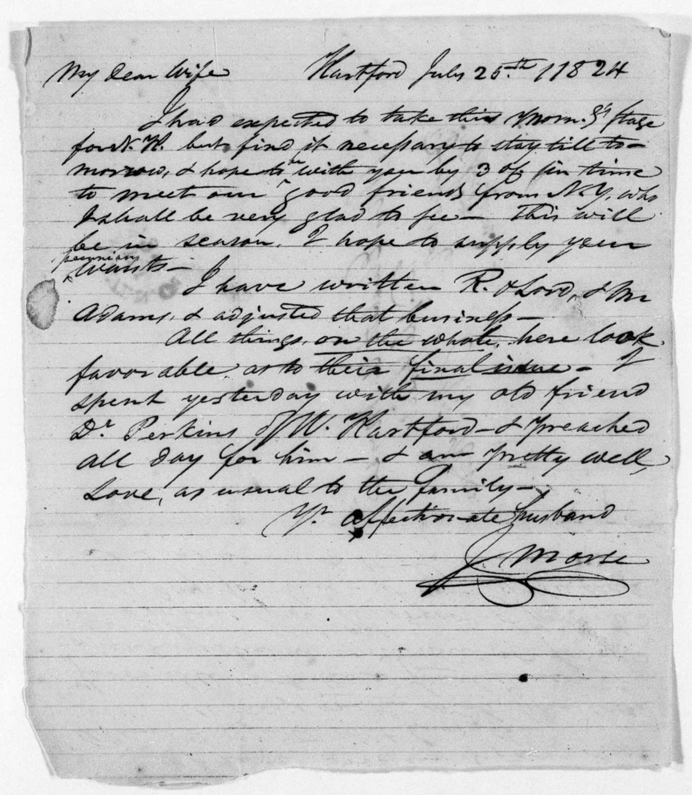 Unbound letters---1824