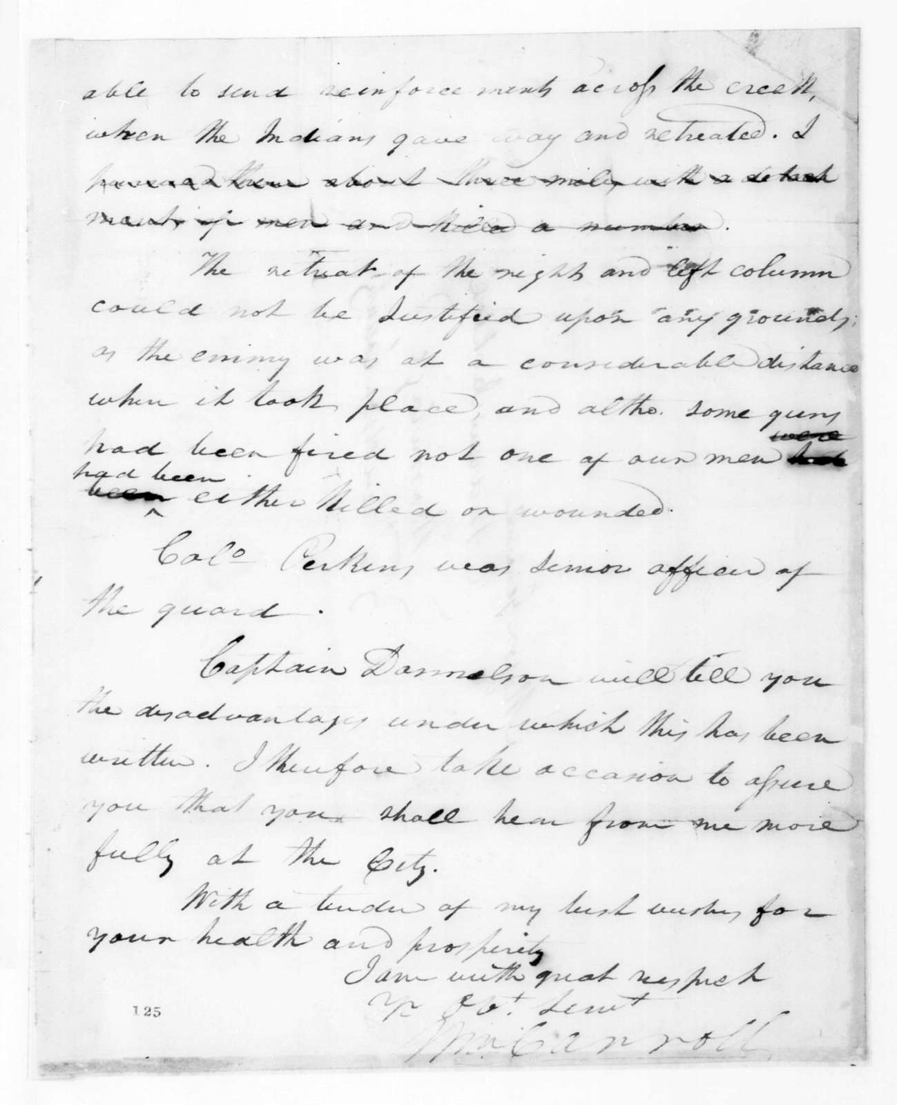 William Carroll to Andrew Jackson, November 6, 1824