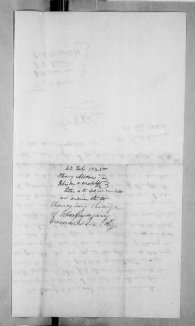 Andrew Jackson to Robert Pryor Henry et al., February 22, 1825